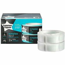 Tommee Tippee Simplee Diaper Pail Refill Cartridge - 180 Count Pack 2 Baby
