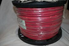 BELDEN 1000FT 14/2 UNSHIELDED POWER LIMITED FIRE ALARM CABLE RED NEW