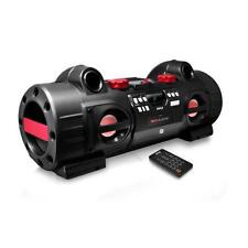 NEW Pyle PBMSPG80 Party Blaster Bluetooth/NFC Streaming Boom Box CD/USB/MP3/Aux