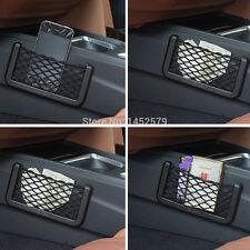 1 PCS Auto Car Black Storage Net String Pouch Bag GPS Phone Holder Pocket