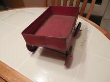 Early Tin Wagon, Large, 1920s Kart American Ives Horse Girard Marx Strauss Struc