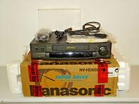 Panasonic NV-HD660 VHS-Videorecorder in OVP inkl. FB&BDA, 2 Jahre Garantie