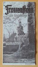 altes Reise Prospekt Frauenstein im Erzgebirge, 1955