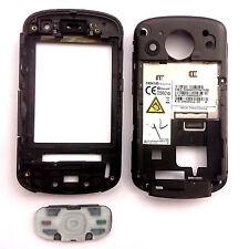 100% Original HTC Trinity Carcasa Frontal + teclado + botones Laterales Negro Naranja SPV M700