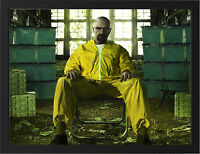 BREAKING BAD HEISENBERG NEW A3 FRAMED PHOTOGRAPHIC PRINT POSTER