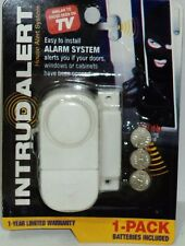 1 Intrud Alert Windows & Doors Alarm System Easy Install 90db Piercing Sound