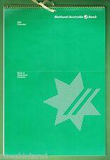 YEAR 1984  NATIONAL AUSTRALIA BANK CALENDAR, BIRDS OF AUSTRALIAN GARDENS