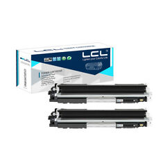 2PK CE310A 126A Toner Cartridge for HP Laserjet Pro CP1021 CP1022 CP1023 NON-OEM