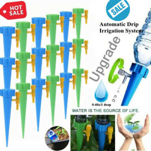 12/24 Pack Plant Self Watering Spikes Devices Water Drip Automatic Slow Release