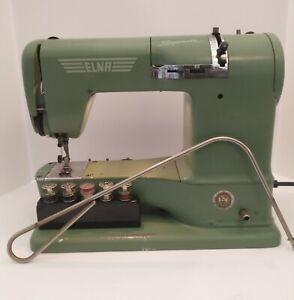 1955 ELNA Sewing Machine With Case