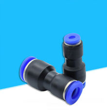 Unequal Reducing Straight Connector Nylon Pneumatic Push In Fittings 8mm to 4mm