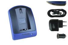Cargador (USB) CR-V3 CRV3 para Pentax *istD, *istDL, *istDS, K100D, K110D