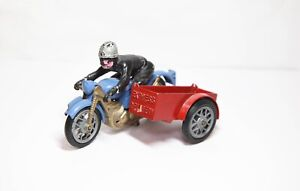 Budgie No 266 Express Delivery Motorcyle & Sidecar - Vintage 1960s Model