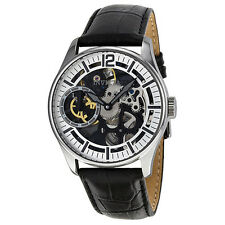 Invicta Vintage Mechanical Silver Skelton Dial Mens Watch 12403
