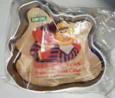 *RARE* VTG 1977 Sesame Street Ernie & Bert Cake Pan Mold W/ Instructions &Insert