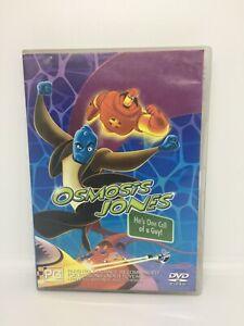 OSMOSIS JONES DVD Region 4 Movie Very Good Condition FREE SHIPPING