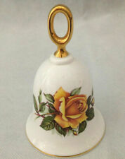 New ListingHand Bell by the Danbury Mint Floral Handbell Vintage
