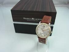 Maurice Lacroix Masterpiece Grand ƒguichet AUTOMATICO VETRO PAVIMENTO 58789 Custodia per orologi