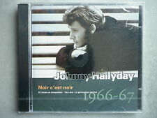 "Johnny Hallyday cd album ""Guitare"" Noir C'est Noir 1966-67"