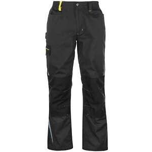 Dunlop Mens Craft Workwear Trousers Pants Bottoms Zip