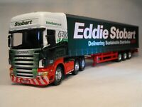 EDDIE STOBART MODEL SCANIA  ARTIC Articulated TRUCK CURTAINSIDER scale 1:50 UK
