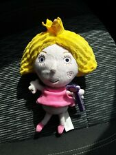 "Ben and Holly's Little Kingdom Princess Holly Talking Plush Toy Soft 9.5"" Tall"