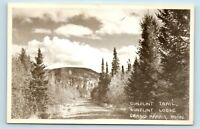Grand Marais, MN - EARLY GUNFLINT LODGE TRAIL - DIRT ROAD - RPPC - Z5