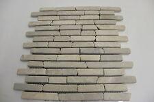 CAMPIONE Bianco/Crema brickbone Marmo Mosaico Bagno Cucina Piastrelle Mosaico