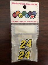 Jibbitz RARE Nascar Hendricks Motorsports #24 Jeff Gordon Shoe Charms Crocs 2 Pk