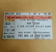 Bob Seger & The Silver Bullet Band Live Nation DOW Event Center Arena