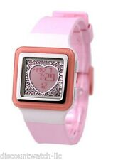 Casio LDF21-4A Ladies Pink Digital POPTONE Sports Fashion Watch HEART DISPLAY