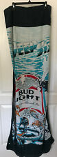 Vtg Budweiser Bud Light Beer Beach Towel Deep Six Divers Ocean Sea 80s 1980s