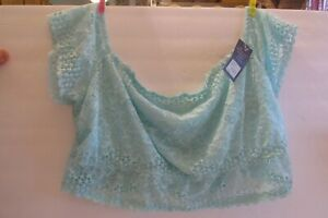 BNWT Cacique Mint Lace Lined Bralette from the Seriously Sexy Collection (26/28)