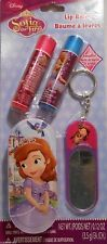 Lip Balm Set DISNEY SOFIA THE FIRST Tin Key Chain Mirror Chap Stick