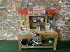 ACCESSORIES TO SUIT MAMOD GARAGE/BARN TE1A / SR1A HANDMADE WORK  BENCH & TOOLS