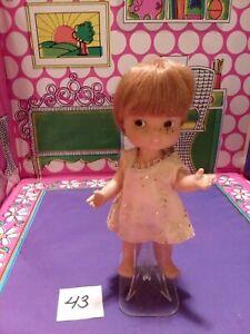 Vintage REMCO Heidi's Little Brother Herby Doll 1966 Pocketbook Dolls