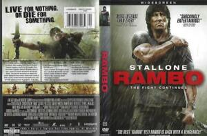 DVD: LOT OF 2  RAMBO-RAMBO THE FIGHT CONTINUES SYLVESTER STALLONE