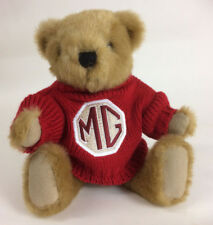 MG 'BUSTER' TEDDY BEAR, WITH RED JUMPER, BRAND NEW (BGR68R)