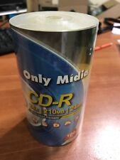 Mini CD-R White Inkjet Printable 100pcs 24X 210MB 24Min