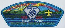 Hiawatha Seaway Council (NY) S-5b Cub Scouting 75th ANN CSP  BSA