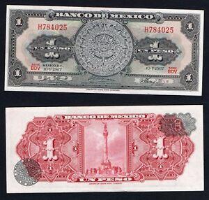 Messico / Mexico - 1 peso 1967 SUP/AU  A-05