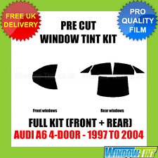 AUDI A6 4-DOOR 1997-2004 FULL PRE CUT WINDOW TINT KIT