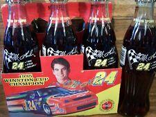 1995, Jeff Gordon # 24, WINSTON CUP CHAMPION, 6 - 8 Oz Coke Bottles