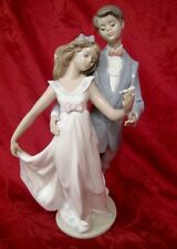 Lladro #7642 Now And Forever 1995 Love Figurine Ten Years Together In A Box