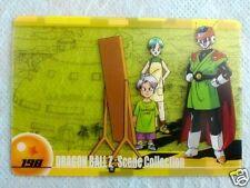 HTF JAPAN DRAGONBALL MORINAGA Wafer SuShuu Card GREAT SAIYAMAN TRUNKS BULMA 198