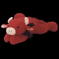 "TY PILLOW PALS ""RED"" the BULL REDBULL #03021 MWMT Retired PLUSH Soft Toy"
