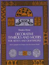 DECORATIVE SYMBOLS AND MOTIFS FOR ARTISTS AND CRAFTSPEOPLE  PETRIE FLINDERS