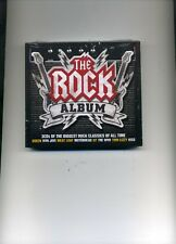 THE ROCK ALBUM - U2 QUEEN BON JOVI MOTORHEAD KINKS TROGGS RAINBOW - 3 CDS - NEW!