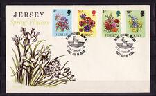Jersey  enveloppe  série flore  fleurs    1974
