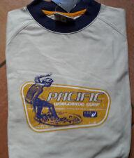 T-shirt uomo Asics tg S, bianco e blu, tortora , cotone